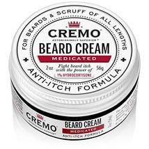 Cremo Beard Cream, Medicated Beard Formula, 2 oz