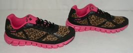 Crazy Train RUNWILD14 Black Pink Cheetah Sneakers Size 11 image 3