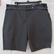Apt. 9® Modern Fit Bermuda Shorts w/Belt  MAGNET Women's Sz. 16 NWT MSRP$40 - $25.19