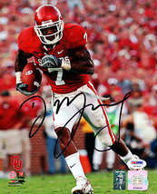 DeMarco Murray signed Oklahoma Sooners 8X10 Photo (maroon jersey)- PSA H... - $53.95