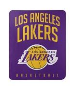 Los Angeles Lakers Lay Up Fleece Throw Blanket - $19.95