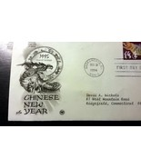 First Day Issue, Chinese New Year-1995 Envelope - $14.00
