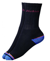 Dickies Strong Work Sock 3 pairs Fully Cushioned Sock  Extra Comfort DCK... - $10.42