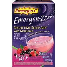 Emergen Zzzz Berry PM Nighttime Sleep Aid, 0.27 Ounce -- 24 per case. - $54.44