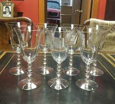 "7 Imperial ""Candlewick"" 3400 Water Goblets, 7.5"" Tall, 9 ounce, Plus Bonus - $39.99"