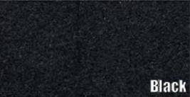 1973 CADILLAC ELDORADO CONVERTIBLE TRUNK MAT CARPET, BLACK - $69.25