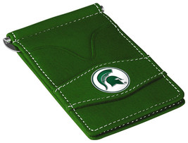 Michigan State Spartans MSU Green Officially Licensed Players Wallet - $19.00