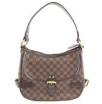 #32426 Louis Vuitton Highbury Hobo Expandable Damier Ébène Canvas Should... - $850.00