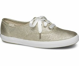 Keds WF58392 Women's Champion Matte Brushed Metallic Platinum, 5 Med - $52.54 CAD