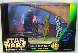 Star Wars Power of the Force Jabba the Hutt's Dancers Figures Set NEW SEALED MIB - $20.31