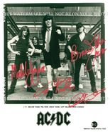 AC/DC GROUP BAND SIGNED AUTOGRAPH 8x10 RP PHOTO ANGUS MALCOM YOUNG BRIAN... - $17.99