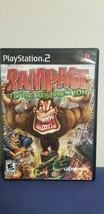 Rampage Total Destruction (Sony Playstation PS2, 2006) Game - $12.86