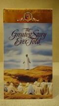 MGM The Greatest Story Ever Told VHS Movie  * Plastic * - $6.58