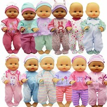 Doll Clothes Leisure Set Fit 35 cm Accessories Baby Suit Festival Gift F... - $11.21