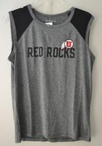 Camp David NCAA Breeze Womens Sleeveless Mesh Shirt Utah Utes Red Rock Sz L - $15.55
