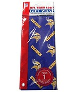 Minnesota Vikings Flat Wrapping Paper - $9.86