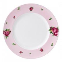 Royal Albert New Country Roses Pink Modern Dinner Plate New (S) - $39.59