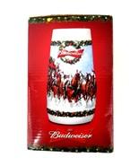 2009 Anheuser Busch Budweiser Stein Mug Cup Bud Clydesdale Christmas Hol... - $32.71