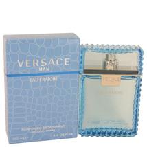 Versace Man by Versace Eau Fraiche Deodorant Spray 3.4 oz (Men) - $50.00