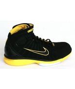 Nike Zoom Air Huarache 2K4 Black & Yellow Athletic Shoes Men's 8.5 NEW - $148.49