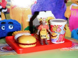 Barbie McDonalds Happy Meal w/toy Tray (B) fits Fisher Price Loving Fami... - $14.99