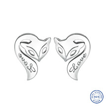 925 Sterling Silver earring CZ Cubic Zirconia clear crystal DLE85 - $12.99