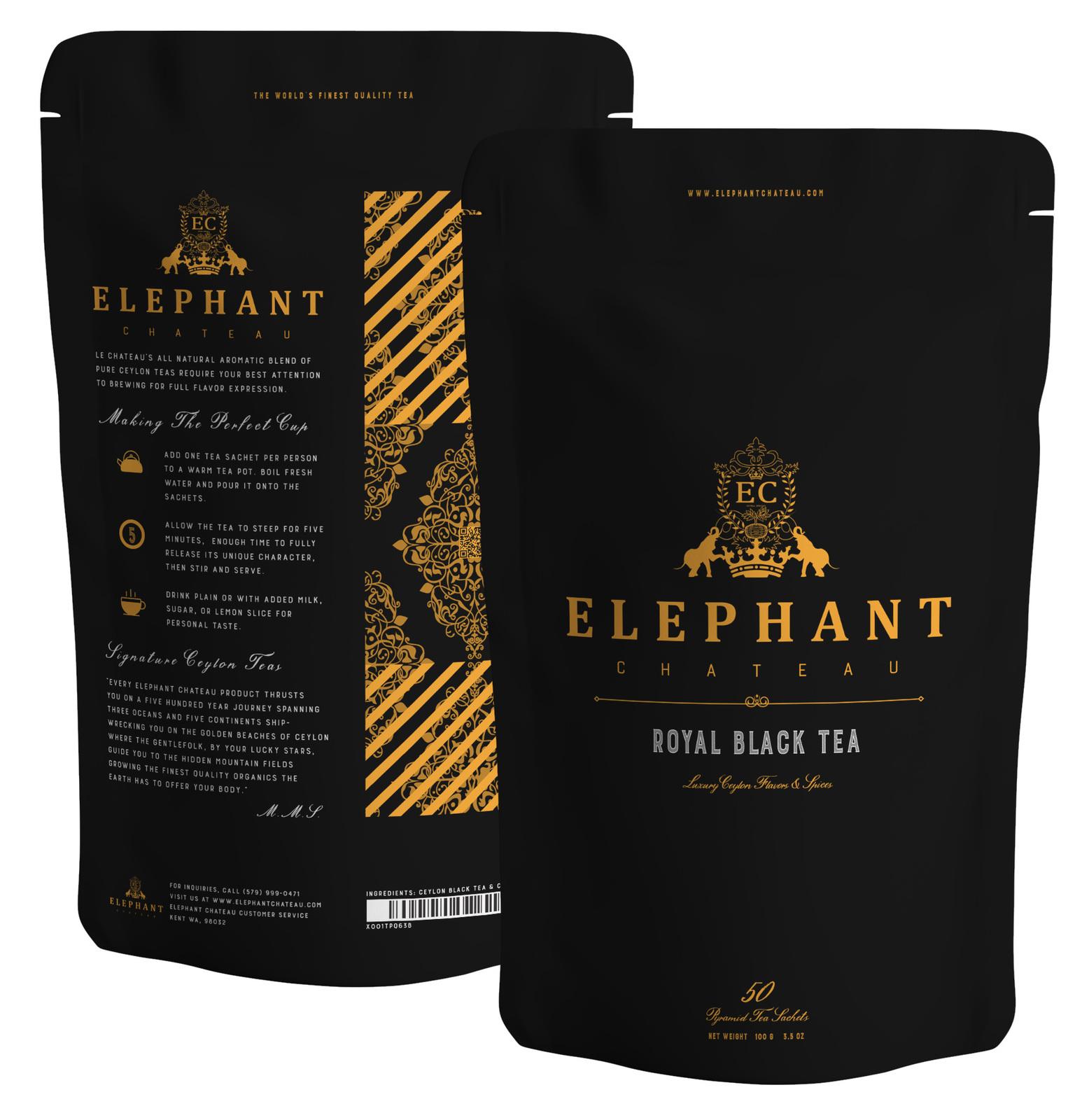 Flowery Ceylon Black Tea | Makes 100 Cups | Delicious Organic Black Loose Tea
