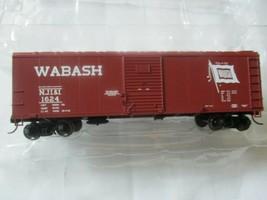Bowser #42463 Wabash NJI&I Flour Loading 40' Boxcar  HO Scale image 1