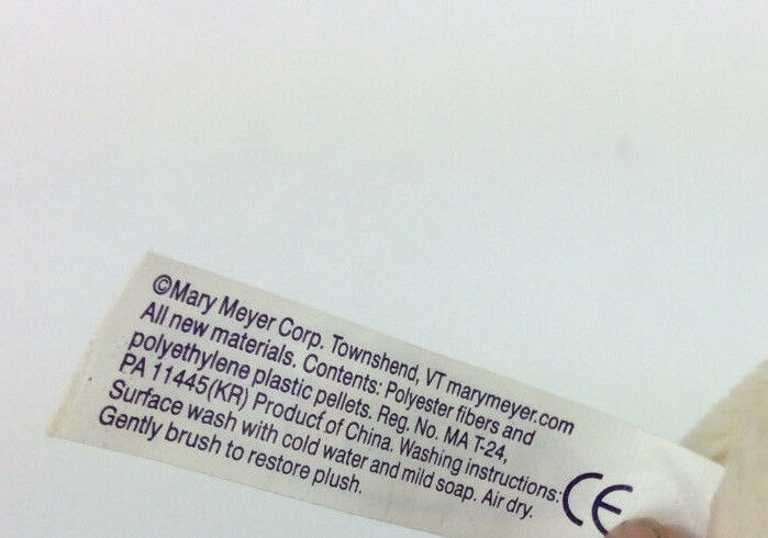 "Mary Meyer Dog So So Schnozz Plush Brown Cream Stuffed Green Collar 10"" NEW"