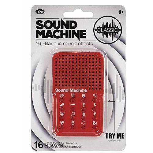 NPW-USA Sound Machine, 16 Hilarious Sound Effects New