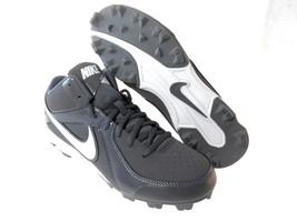 Nike Mvp Keystone 3/4MID Le Men's Baseball Cleats Sz 6.5, 7, 7.5, #555968-015 - $38.99