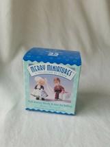 Hallmark Merry Miniatures - Park Avenue Wendy & Alex the Bellhop  - $21.78