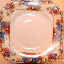 "Romany A4500 6 7/8"" Dessert / Pie Plate Gold Trim Made in England by Ayn... - $19.95"