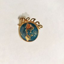 Beautiful VINTAGE AVON PEACE ON EARTH Lapel PIN Brooch J0570 - $18.99