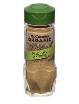 McCormick Gourmet Organic Poultry Seasoning, 0.87 oz - $6.77