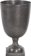 Footed Vase Howard Elliott Square Base Chalice Large Raw - $299.00