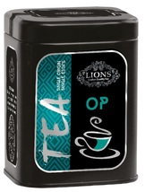 Lions Tea Op, Pure Ceylon Black Tea Loose Leaf, 80 g - $11.25