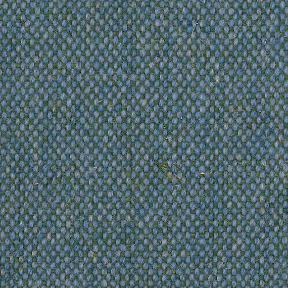 2.75 yds Camira Upholstery Fabric Main Line Flax Wool Bethnal Blue MLF25 HB