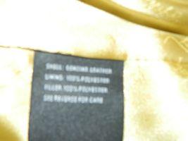 BABY PHAT Jacket Puffer Leather Kimora Lee Simmons Brown Coat XX-Large image 12