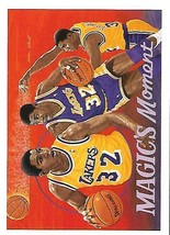 1991-92 Upper Deck-#29-Magic's Moment-Magic Johnson-Lakers-Forward - $3.96