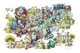 Disney Wonderground Gallery Haunted Mansion Art Postcard, NEW - $10.50