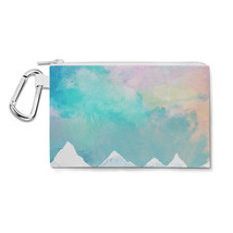 Mountain Top Sunrise Canvas Zip Pouch - $15.99+