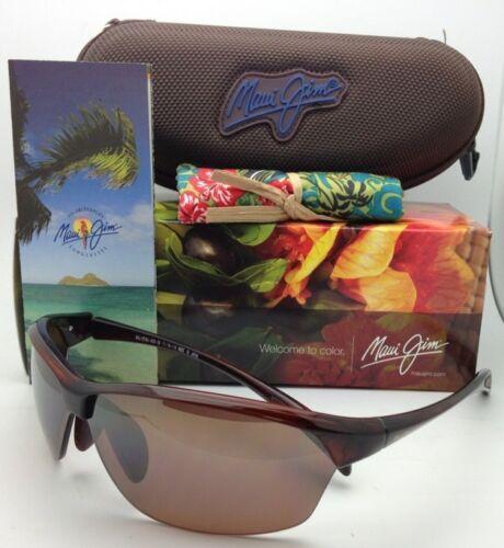 Nuevas Polarizadas Maui Jim Gafas de Sol Sexy Tierra Mj 426-26 Rootbeer Hcl image 12