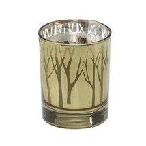 Wax Candle, Scented Crisp Night Soy Pillar Holder Christmas - €18,01 EUR