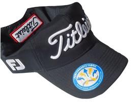 """NEW! Black-White Accents Titleist Men-Women's PRO-V1 UV Cap """"fJ"""" Golf Hat - $49.38"""