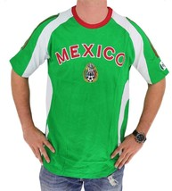 NEW MEN'S SOCCER FOOTBALL WORLD CUP JERSEY SLIM FIT SHIRT T-SHIRT MEXICO SIZE S