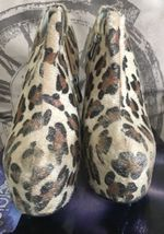 WOMENS PARTY 7 dominatrix SIZE LEOPARD SHOES STILETTO HIGH SERGIO TODZI HEELS SgB5Bq