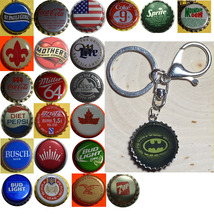 Batman Logo Coke Sprite Diet pepsi & more Soda beer cap Keychain image 4