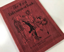 The Red Entertainment Book Theatrical Theatre School Play Flanagan Co Vt... - $14.84