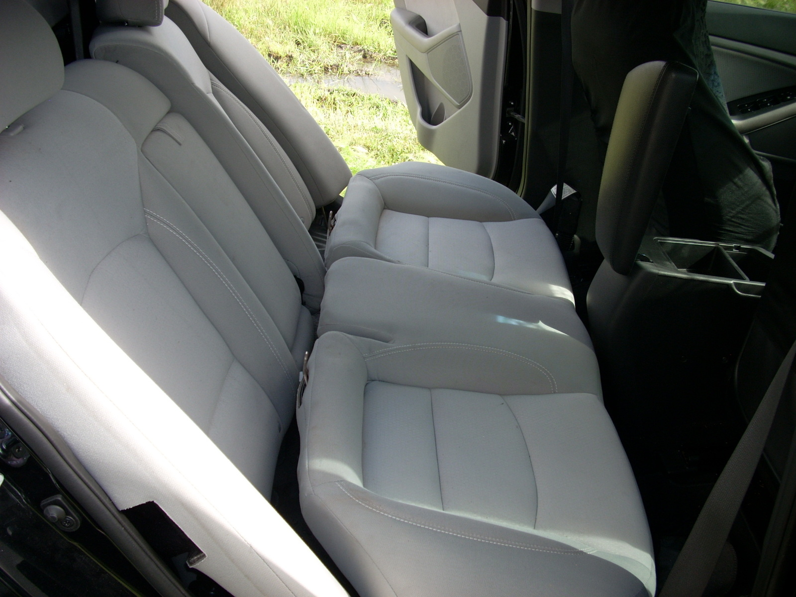 13 kia optima rear seat